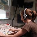 Radio recording studio